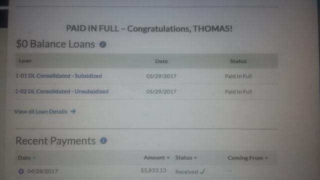 Student loans 0